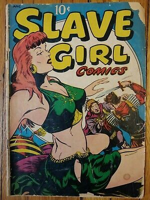 Slave Girl 1, 1949 Golden Age Comic. 10 cent. Presents well! See pics