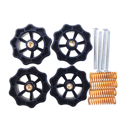 Hot Bed Upgraded Big HandTwist Leveling Nut+Screws For Creality 3D Printer P5C5