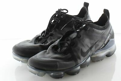 A3 Nike Air Vapormax Black/Grey Mesh Running Shoe Men's Sz 9 M