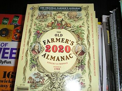 the OLD FARMER'S ALMANAC  2020  , the Original , Weather Forecasts