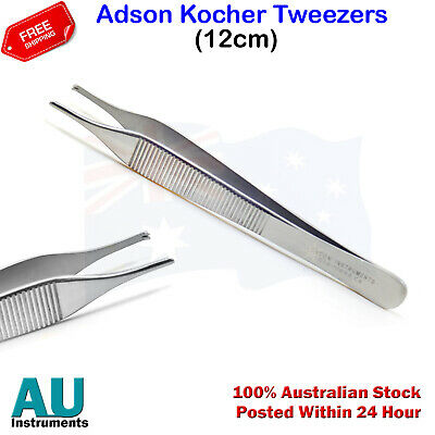 Surgical Micro Adson Kocher Tweezer Tissue Thumb Forceps Tooth Dissecting Pliers
