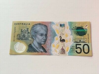 RARE COLLECTIBLE AUD $50 note with spelling Errors - Circulated - Good condition