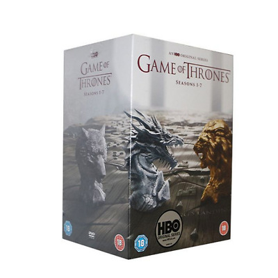 Game Of Thrones The Complete Season 1-7 HOT & Sealed DVD Box set 1 2 3 4 5 6 7