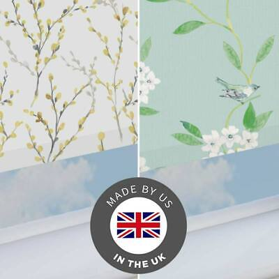 Patterned Blackout Roller Blind Thermal- Ready Made Blinds - Up to 195cm x 180cm