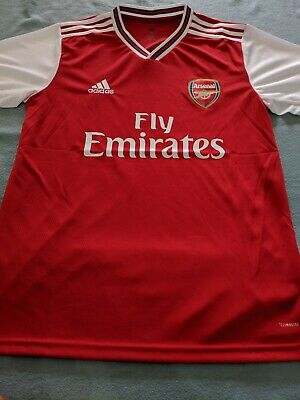 Arsenal FC Adidas Home Shirt 2019/20 BNWT - Size M - Mens