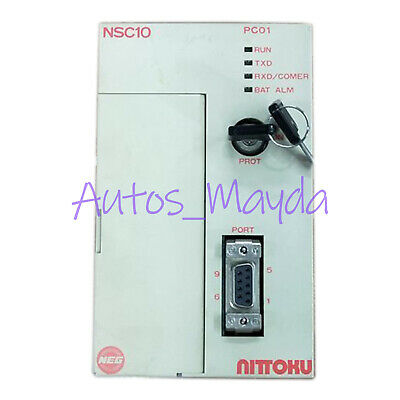 Yaskawa Used NITTOKU NSC10 PLC JEPMC-PC040 90 day warranty