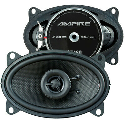 Ampire Speaker 4x6 Coax for BMW 3er (E21) 75-83 Front/Rear