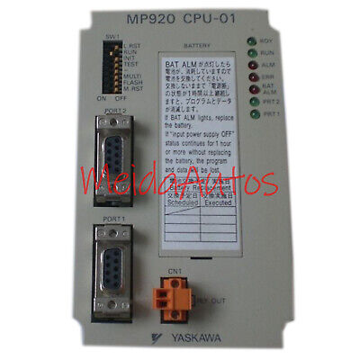 Used Yaskawa JEPMC-CP200 Controller MP920 CPU-01 Tested In Good Condition
