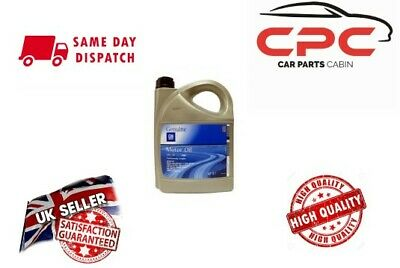 Genuine Vauxhall Gm 5W30 Fully Synthetic Engine Oil 5 Litres