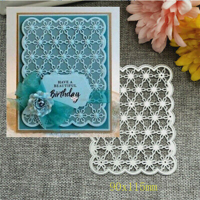 Steel Cutting Die Template Wave Flower Birthday Cards Album Handcraft DIY Decor