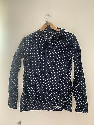 Girls Raincoat Peter Storm 13 Years Blue Spotted Casual Polyester <JS2040