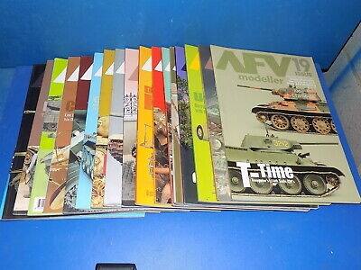 AFV Modeller Magazine - Select From Back Issues