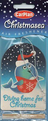 Christmasea - Car Air Freshener - Gingerbread - Christmas       *New And Sealed*