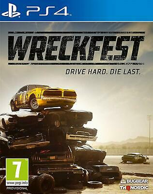 NEW & SEALED! Wreckfest Sony Playstation 4 PS4 Game