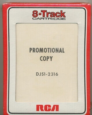 WRCA Promotional 8 Track Rare Sealed