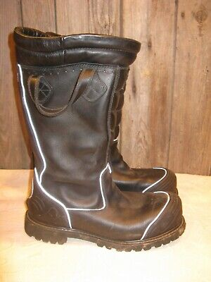 Thorogood Hellfire Leather Hybrid Firefighter Turnout Boots Size 11 Wide