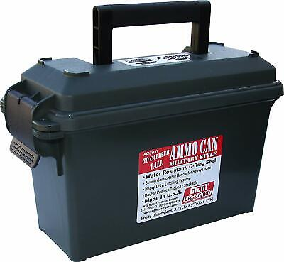 Ammo Can Field Box Ammunition Case 30-Cal Military Plastic Non Metal Waterproof