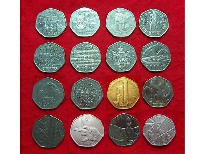 Various Collectable 50p Coins ~ Girl Guiding, Battle of Britain, Scouts, VC etc