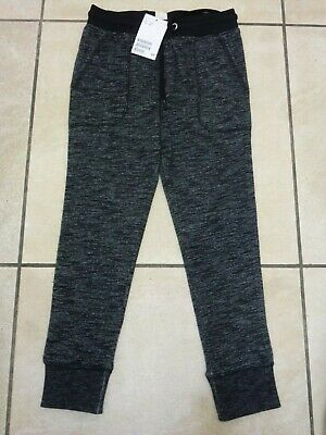 H&M Boys Kids Joggers Jogging Bottoms Ages 4-6 Years BNWT RRP £13.98 Black Marl