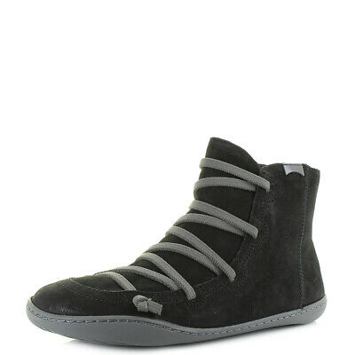 Camper Peu Cami 46477 Womens Ladies Black Soft Leather Ankle Boots Size 4-8