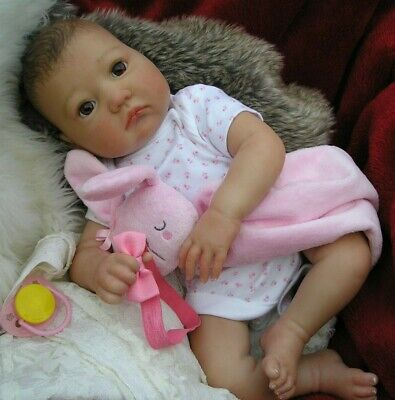 LOVELY Reborn baby doll.....IVY.....BROWN EYES..