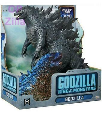 "Godzilla 12"" Tall & 20"" Head-to-Tail - King of the Monsters - Jakks Pacific 2019"