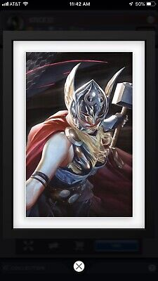 Topps Marvel Collect Alex Ross Jane Foster Thor Card