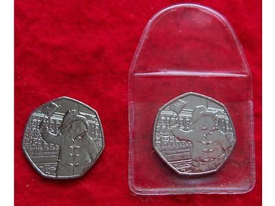 Uncirculated New 50p Coin of Paddington Bear at the Palace ~ from sealed bag