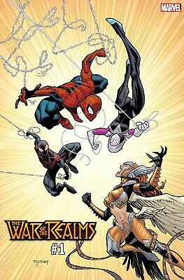 The War of the Realms #1 (of 6) Marvel Comics 2019 Ottley Variant