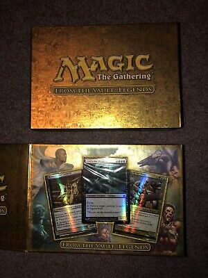 Magic The Gathering From the Vault Legends MTG Magic NIB
