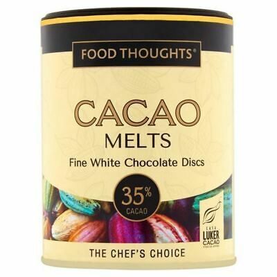 Food Thoughts Melts White 35% Cacao 150g