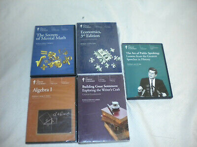 Great Courses The Teaching Company Mixed Lectures Subject Matter Lot