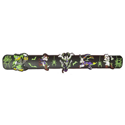 Disney Parks Vampire Mickey & Friends Halloween 2019 Bracelet Glow in the Dark