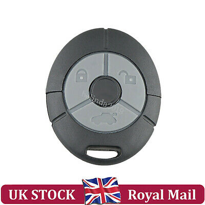 3 Button Remote Key Fob Case Cover Repair For Rover MG TF ZR ZS 25 45 Streetwise