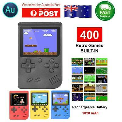 Built-in 400 Games 3 inch Handheld Retro FC Game Console 8 Bit Mini Game Player