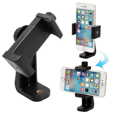 Universal Cell Phone Tripod Adapter Holder Smart Phone Mount For Samsung iPhone