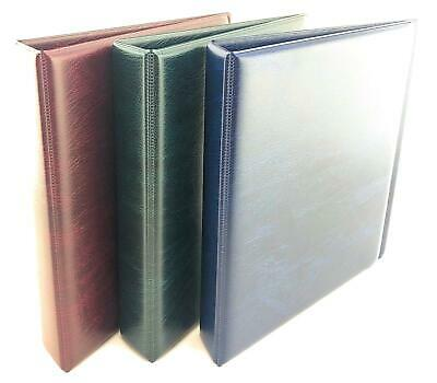 Coingallery Padded Coin Ring binder Album With Lighthouse Numis Pages Mixed