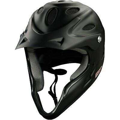 Simpson Helmets 1450038 Pit Warrior Helmet Large Matte Black