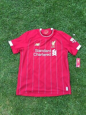 liverpool home shirt 2019/2020 large