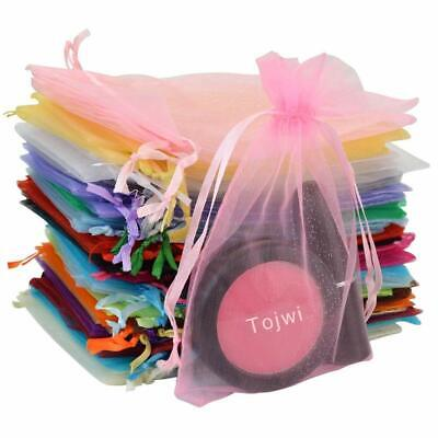 Organza Gift Bags Drawstring Pouches Wedding Xmas Party Favor Jewelry Candy Bags