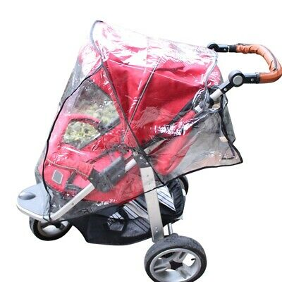 Waterproof Universal Baby Strollers Rain Cover Wind Shield for Buggy Pushchairs