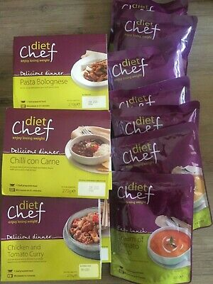diet chef 7 days pack 3 soups and dinner only