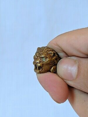 Ancient Ring Berber Bronze Artifact Old Stuning Vintage Legionary Extremely Rare