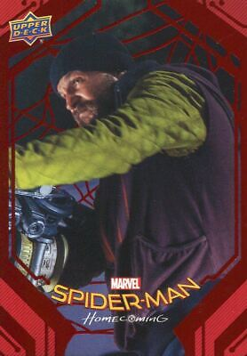 Spiderman Homecoming Red Foil [199] Base Card #20 Brice's Weapons Demo