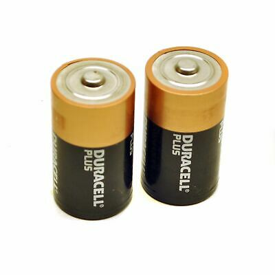 2 x D Duracell plus batteries / battery ultra alkaline long lasting  TE467