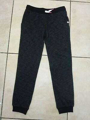 H&M Girls Kids Sweatpants Jog Pants Joggers Age 9-10 Years BNWT Black Marl