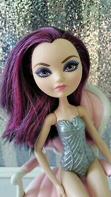 Raven Queen Ever After High With Armor Body Suit Purple Black Hair