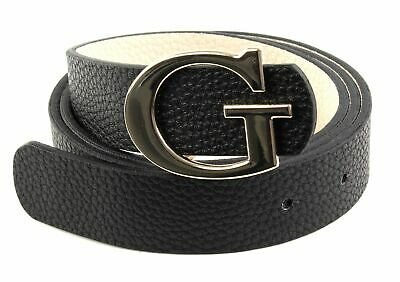 GUESS Aretha Reversible Belt W85 Black / Stone