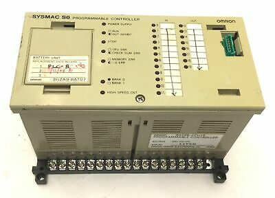 Omron 3G2S6-CPU15 Sysmac S6 Programmable Controller PLC, *Damaged Mount*