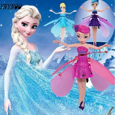 Wireless Flying Fairy Magical Pink Big Music Doll Princess & Stand Rechargeable